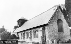 Tregynon, Saint Cynon's Church c.1955