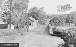 Tregynon, The Cross Roads c.1955