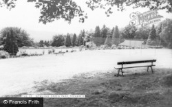 Treharris, Bowling Green Park c.1965