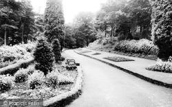 Treharris, Entrance To The Park c.1965