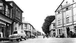 Treharris, The Square And Bargoed Terrace c.1960
