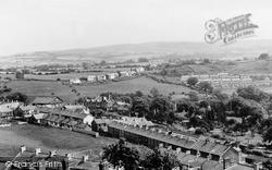 Treharris, View From Twyn-Y-Garreg Farm c.1955