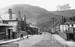 Treherbert, Station Road c.1955