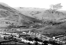 Treherbert, View From The New Road c.1960