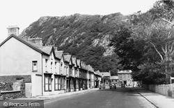Tremadoc, Church Road c.1955