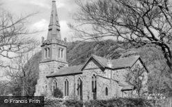 Tremadoc, The Church c.1960, Tremadog