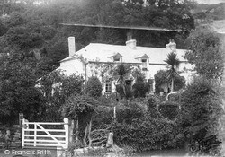 Trenance, The Cottages c.1890
