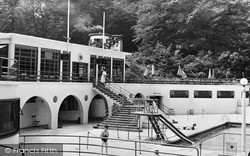 Trentham, Park Swimming Pool c.1955