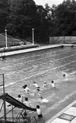 Trentham, Swimming Pool c.1955
