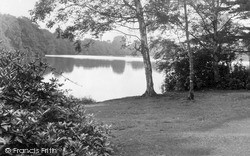 Trentham, The Lake c.1955