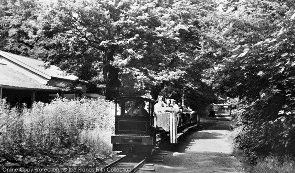 Photo of Trentham, Toy Railway c1955