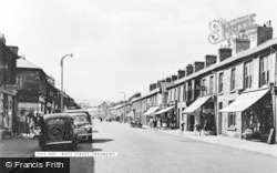 Treorchy, Bute Street c.1955