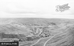 Treorchy, From Craig Ogwr c.1955