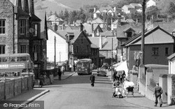 Treorchy, Station Road c.1960