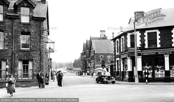 Treorchy, the Square c1955
