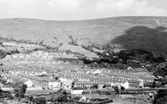 Treorchy, view from Tylacoch c1960