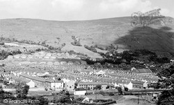 Treorchy, View From Tylacoch c.1960