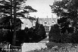 Trerice Manor, 1904