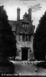 Trerice Manor, 1907