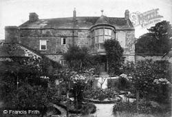 Trerice Manor, The Dutch Garden 1907