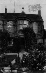 Trerice Manor, The Oriel Window 1907