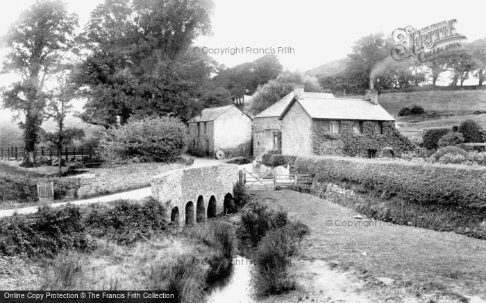 Newquay,Trewerry Mill 1907,Cornwall