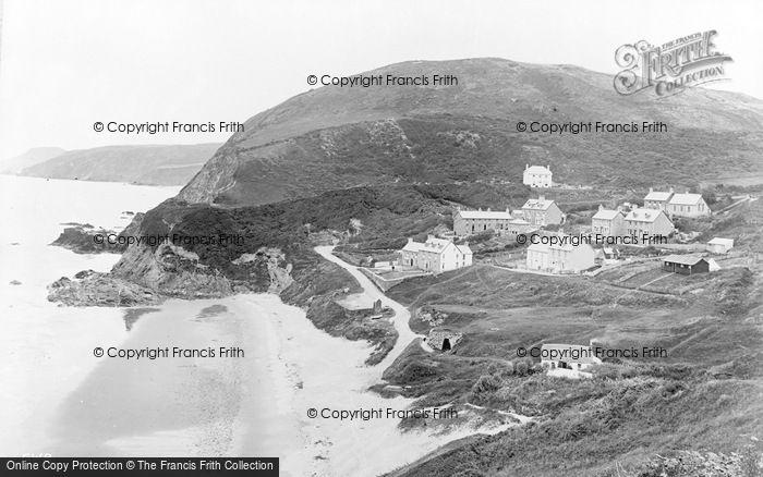 Photo of Tresaith, c.1930