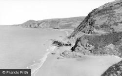 Tresaith, Carreg-Y-Trothwy c.1960