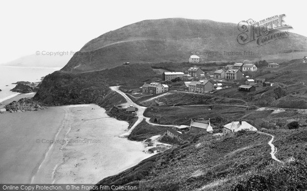 Photo of Tresaith, From The Cliff Walk c.1950
