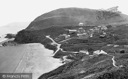 Tresaith, From The Cliff Walk c.1950