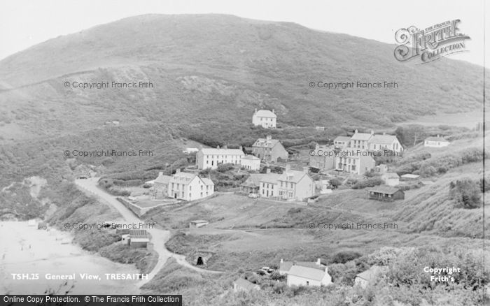 Photo of Tresaith, General View c.1960