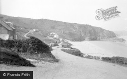 Tresaith, Shore Road c.1935