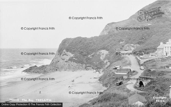 Photo of Tresaith, The Bay c.1950