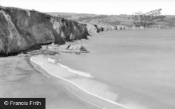 Tresaith, The Bay c.1960