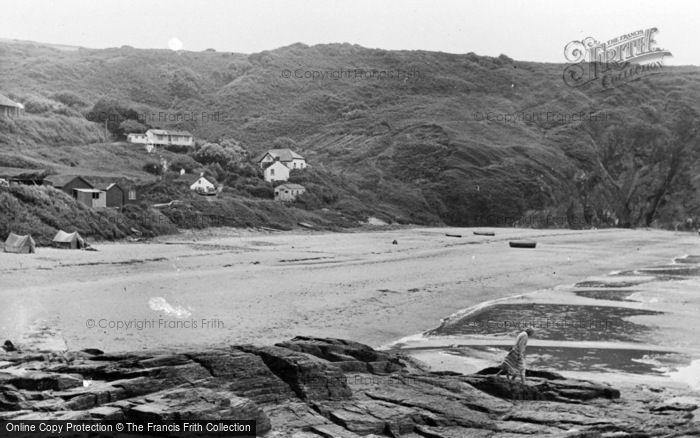 Photo of Tresaith, The Beach c.1950