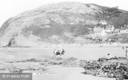 Tresaith, The Beach c.1960