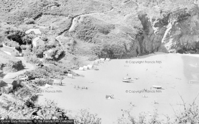 Photo of Tresaith, The Sands c.1960