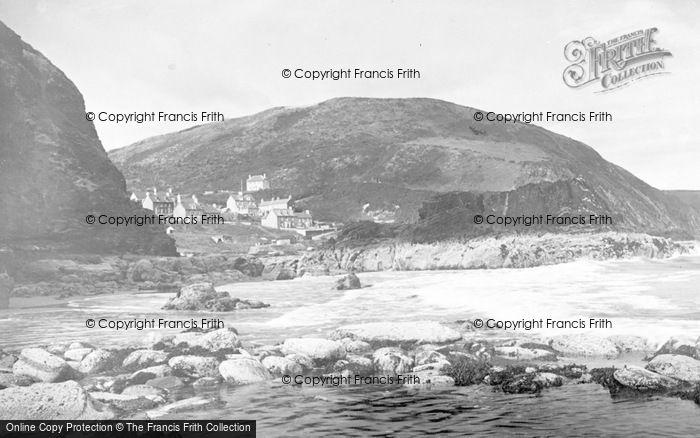 Photo of Tresaith, The Village And Beach c.1950