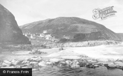 Tresaith, The Village And Beach c.1950