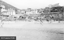 Tresaith, The Village And Beach c.1960
