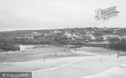 Trevone, Beach 1935