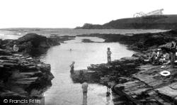 Trevone, The Bathing Pool 1933