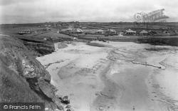 Trevone, The Beach 1931