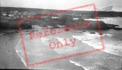 Trevone, The Beach 1933