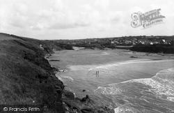 Trevone, The Beach 1937