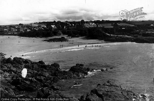 Photo of Trevone, The Beach c.1960