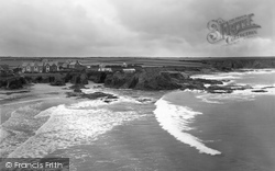 Trevone, The Coast 1923