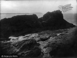 Trevone, The Headland 1923