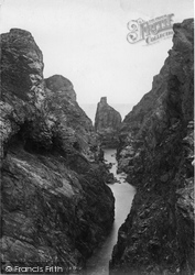 Trevone, Tregudda Gorge 1901