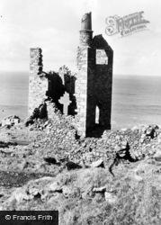 Trewellard, Engine House Ruin c.1950
